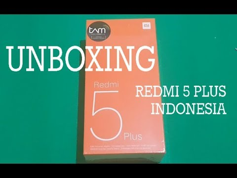 Unboxing Redmi 5 Plus Indonesia