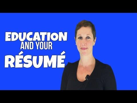 HOW IMPORTANT IS EDUCATION ON A RÉSUMÉ?! | Debra Wheatman