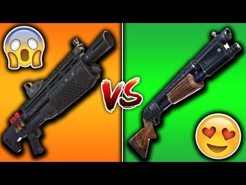HEAVY SHOTGUN VS PUMP SHOTGUN! Is The HEAVY Better Than The PUMP SHOTGUN? (Fortnite)