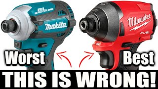 BEST IMPACT DRIVERS (What You Heard is Wrong!)