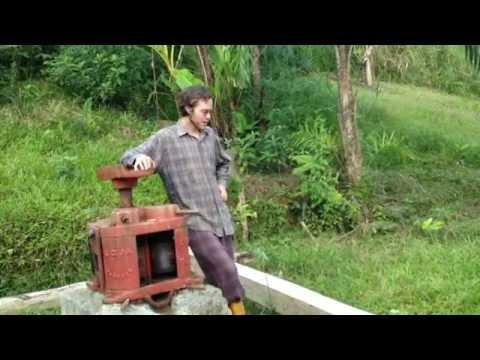 Compost Pile and Sugarcane Press Repair - Aug 4 Update