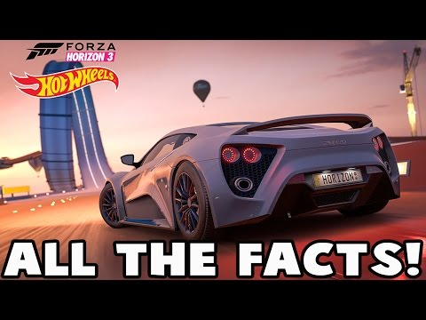 Forza Horizon 3 Hot Wheels DLC - FULL CAR LIST, ALL ACHIEVEMENTS, ALL THE FACTS ABOUT THE EXPANSION