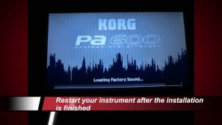 XMS-Pro Music System install english