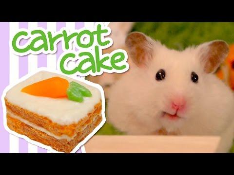 🥕 Carrot Cake | HAMSTER KITCHEN 🥕