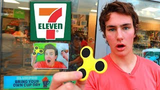 7eleven stole techsmartts fidget spinner video