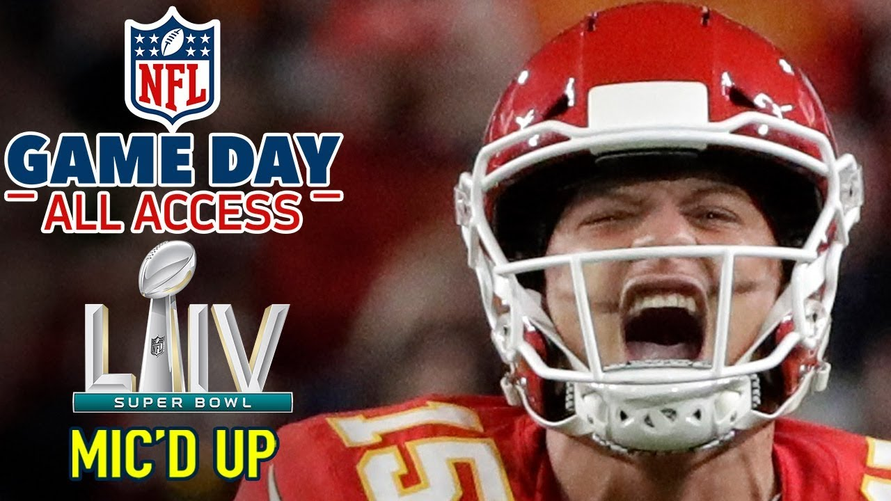"""Super Bowl LIV Mic'd Up, """"I'm a BEAST down here... HIT ME!"""" 