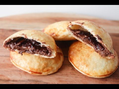 How To Make Nutella Pie Cookies - By One Kitchen Episode 433
