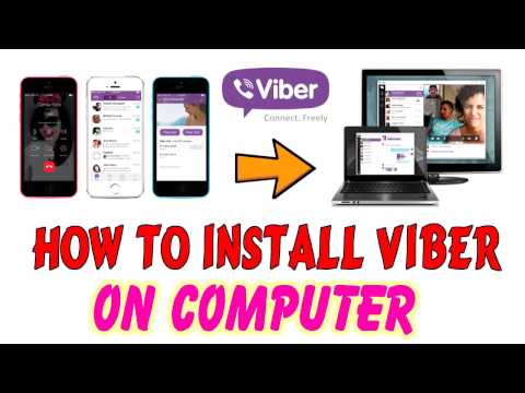 Computer Software: How to install Viber on PC - Free calls, text and picture sharing with anyone