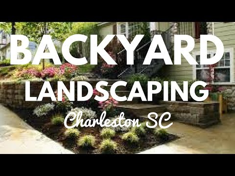 LANDSCAPING IDEAS FOR BACKYARD IN CHARLESTON SOUTH CAROLINA SC SOUTHERN GREEN