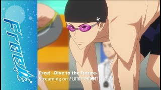 Free! -Dive to the Future- - Official SimulDub Clip - It