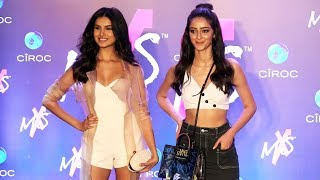 Download Student Of The Year 2 Actresses Tara Sutaria And Ananya Pandey At Shweta Bachchan MxS Label Launch Video