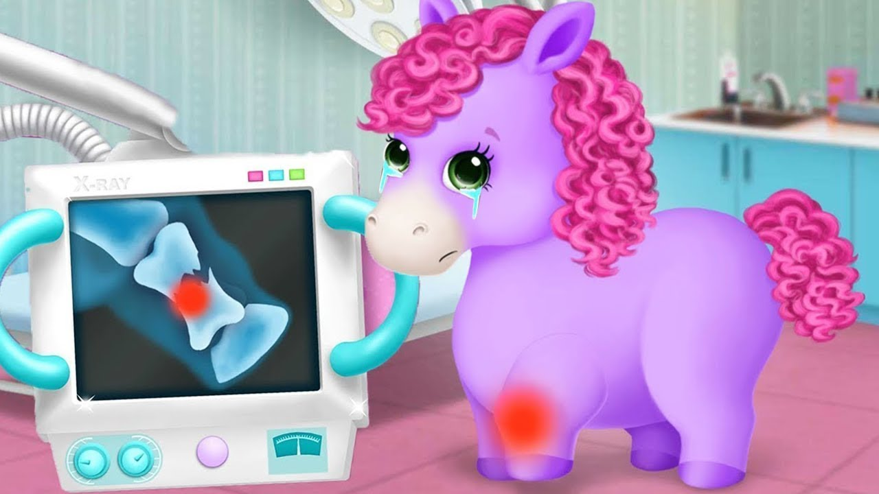 Pony Sisters Pet Hospital - Let's Take Care Of The Cute Animals - Fun Kids Games By TutoTOONS