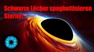Schwarze Löcher spaghettisieren Sterne! - Clixoom Science & Fiction