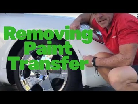 Removing Paint Transfer: The 8th Wonder of the World Tool