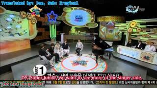 Engsub/110506] Super Junior - 50 Million Big Question | Part 1/4