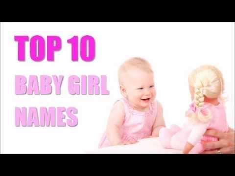 TOP 10 Baby Girl Names