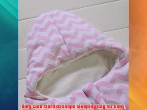 Get ZOEREA Newborn Infant Baby Bunting Bag Winter Thick Starfish Sleeping Bag Pink Top Sell 0539 290