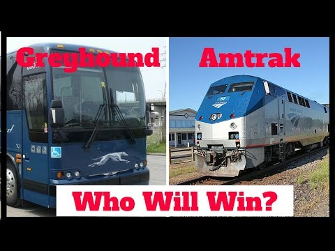 Amtrak vs. Greyhound | Which Is Better For Travel?