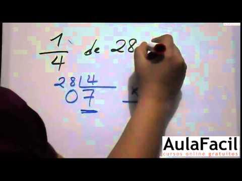 Cálculo de Cuartos/Calcular Medios, Tercios y Cuartos/Matematicas Cuarto Primaria/AulaFacil.com