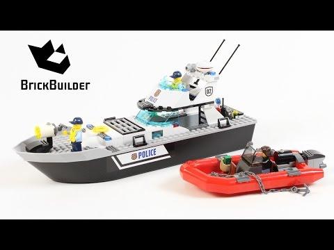 Lego City 60129 Police Patrol Boat - Lego Speed Build