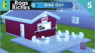 The Sims 4 Dine Out  Rags To Riches  Part 5