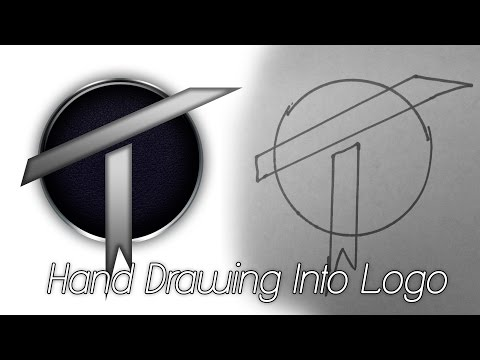 How To Create A Logo From Drawing In Photoshop CS6