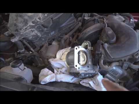 Toyota Tacoma Throttle Body Cleaning