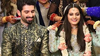 Aiman Khan Engagement with Muneeb Butt Exclusive Pictures & Video