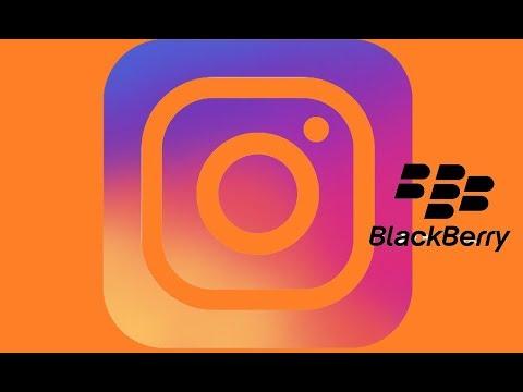 How to  downloade instagram blackberry Z10