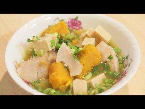 How to Make Pumpkin Taro Soup - MichelleCookingShow