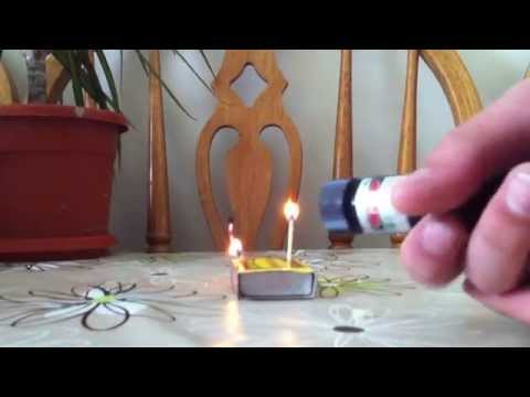 100mW Green YL LASER 303 - how to use, burn and batteries you need