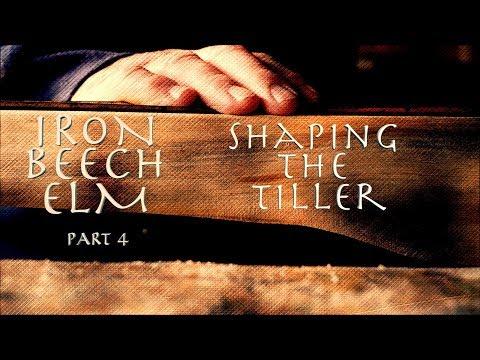 IRON BEECH ELM Can I build a crossbow from scrap? Shaping the Tiller. Pt 4.