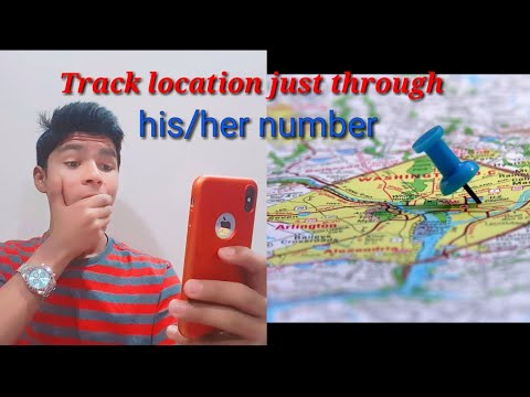 Track location of a person just through phone number