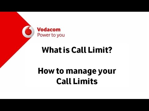 How To Manage your Call Limits