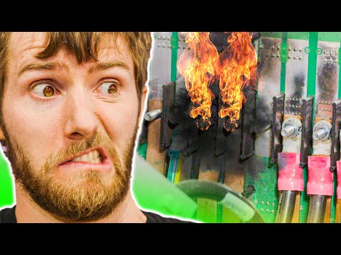 Our server room ACTUALLY Caught Fire Explained