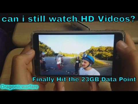 23GB Threshold Test $50 Unlimited Unhook'd Plan Test (Boost Mobile) HD