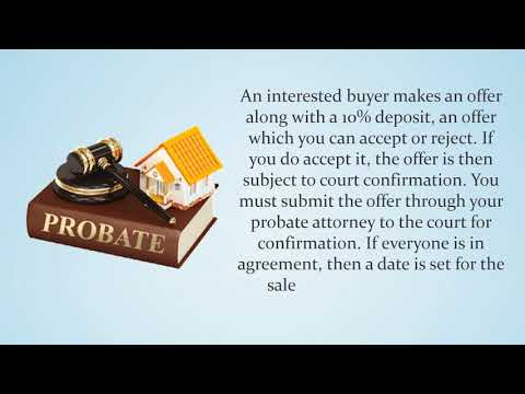 Can a house be sold while in probate in Austin TX?
