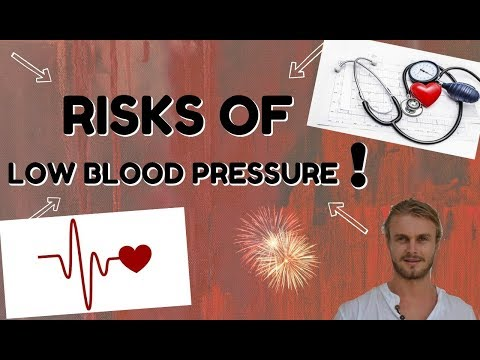 Risks Of Low blood Pressure