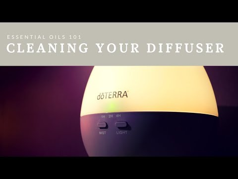 How to Clean a doTerra Petal Diffuser
