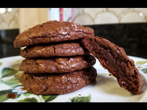 Double Chocolate Chunk Cookies - What's For Din'? - Courtney Budzyn - Recipe 37