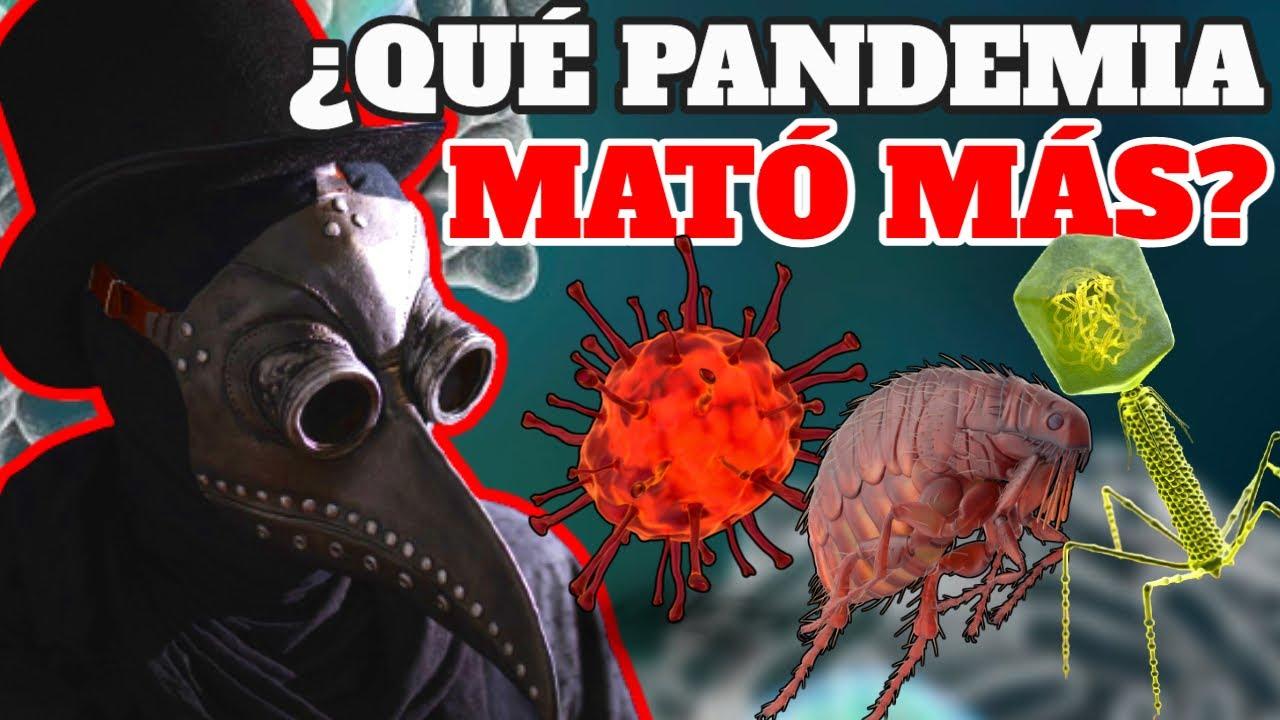 ¡NO TODO ES COVID 19!: LAS PANDEMIAS MÁS MORTALES DE LA HISTORIA