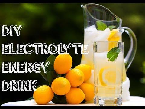 HOMEMADE ELECTROLYTE ENERGY DRINK
