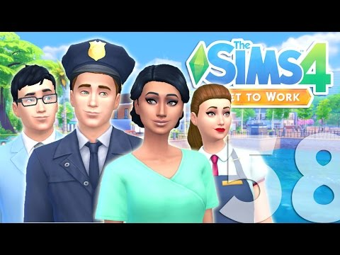Let's Play: The Sims 4 Get to Work - (Part 58) - Employees!