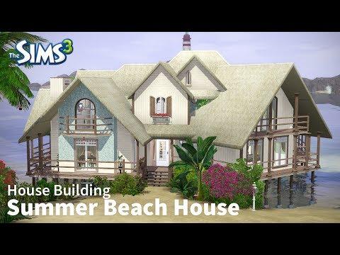 Summer Beach House | The Sims 3 House Building