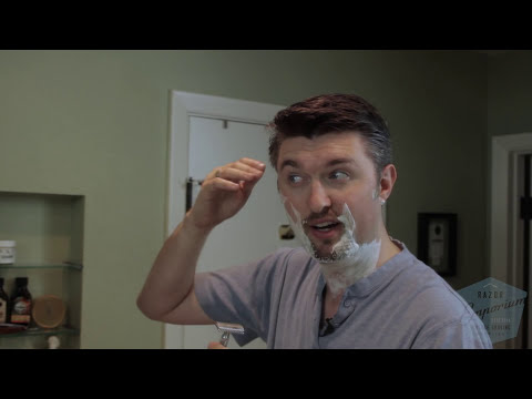 Beginner How to Wet Shave with a Double Edge (DE) Safety Razor