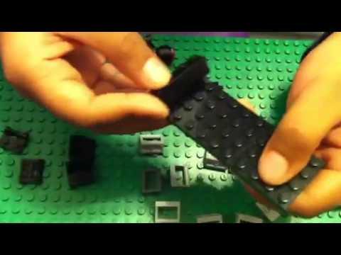 How to make a Custom made Lego Space ship