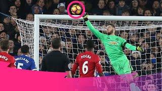 HEROIC GOALKEEPER SAVES | De Gea, Lloris, Leno | Premier League Compilation