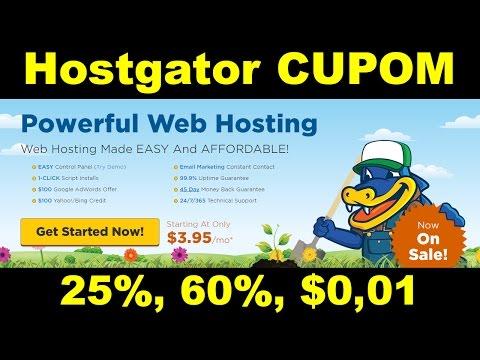 Cupom Hostgator - 60% cupom de desconto Hostgator (2017)