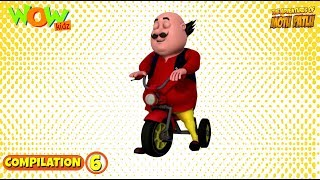 Motu Patlu | Non stop 3 episodes | 3D Animation for kids - #6 | As seen on Nick