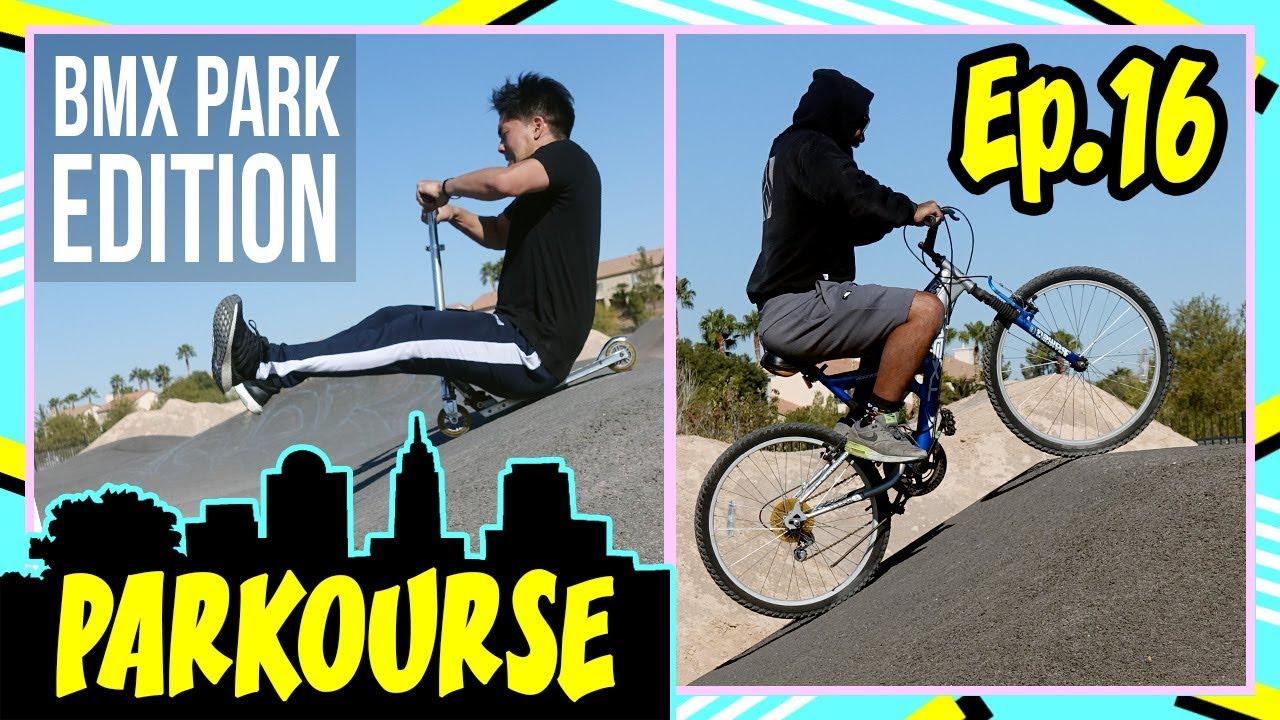 Parkourse BMX Park Edition! (Ep.16)